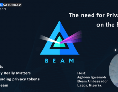 Beam Crypto-Webinar: The Need for Privacy Tokens on the Blockchain