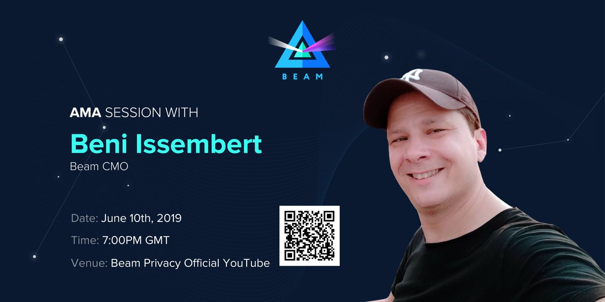 Beam Privacy AMA - with Beni Issembert