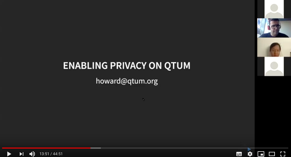 First Webinar for 2019 Qtum & Beam Privacy Hackathon Challenge Explanation
