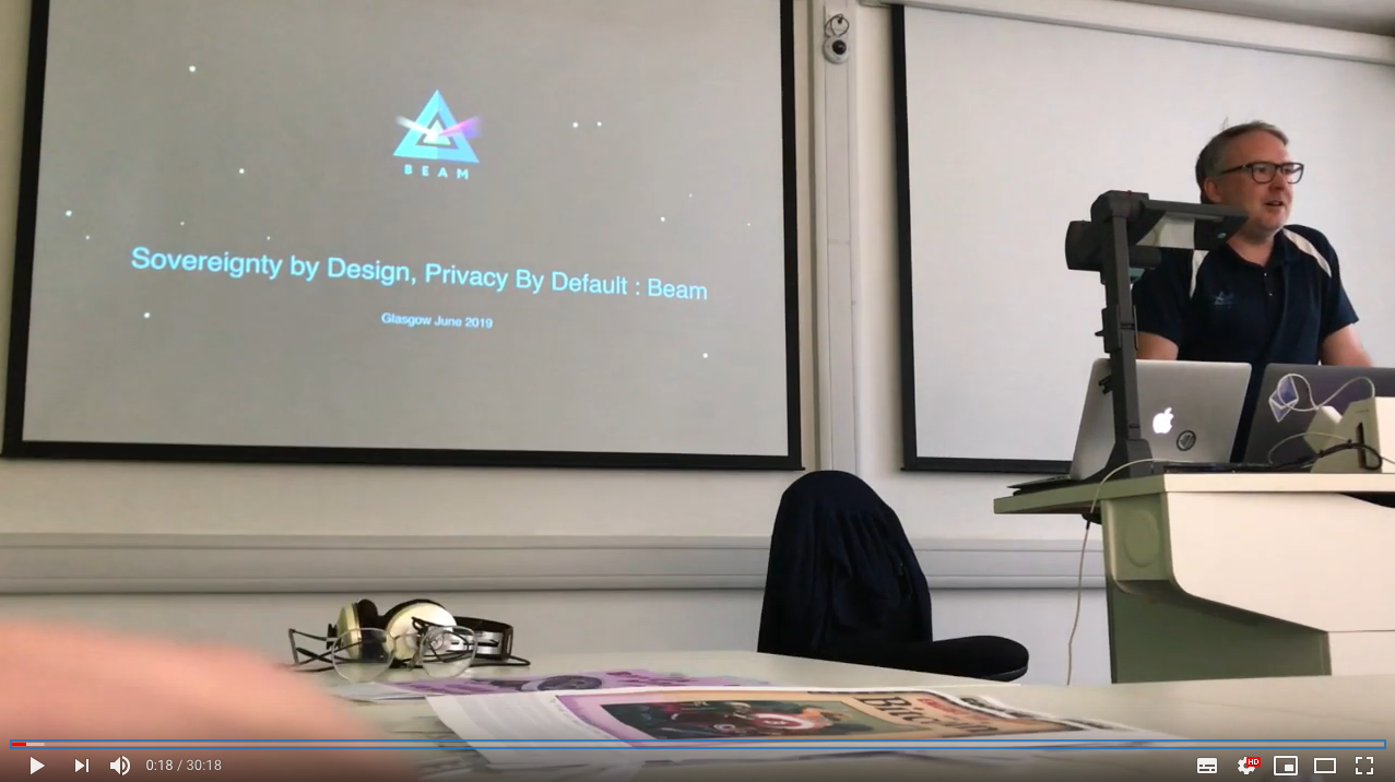 Sovereignty by Design, Privacy By Default : Beam