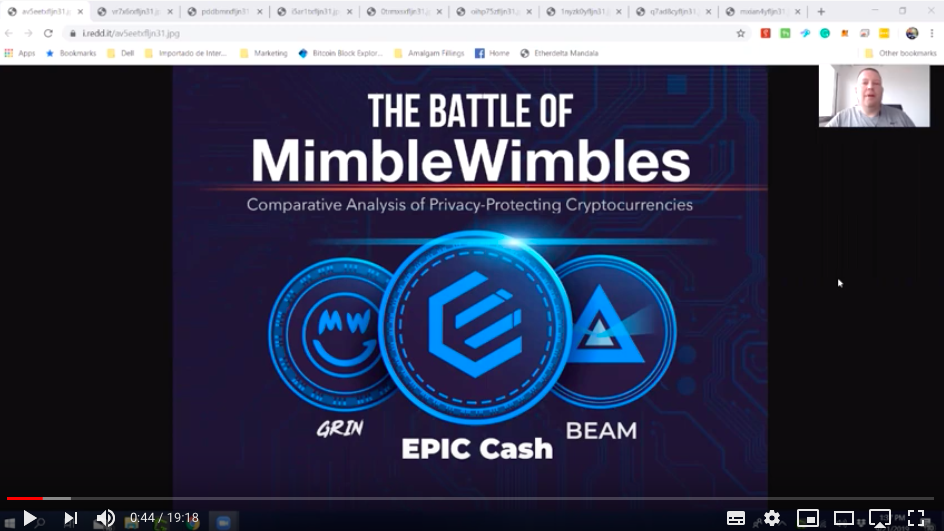 MimbleWimble Coin Comparison of Grin, Epic Cash and Beam